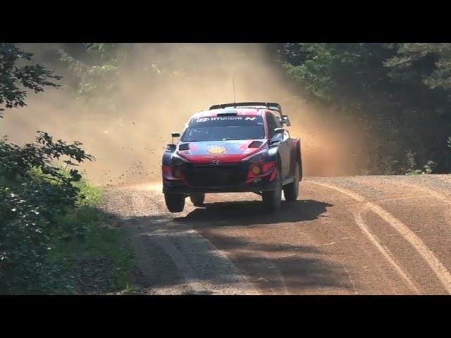 Ott Tänak Rally Estonia 2021 test