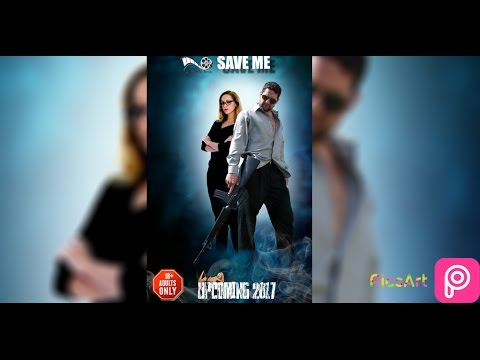 Picsart Movie Poster Editing Easy Movie Poster New Manipulation Photo Editor MOVIE POSTER IN PICSART