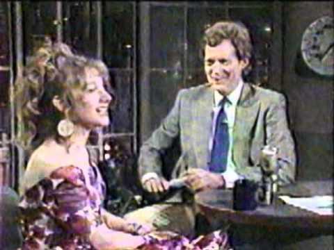 Carol Kane on Letterman, 61887 Part 2