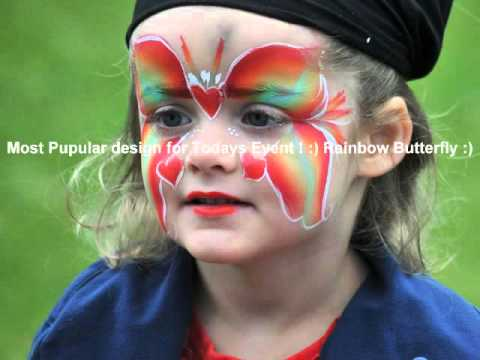 Face Painting @ Payhembury Fete -May 2016