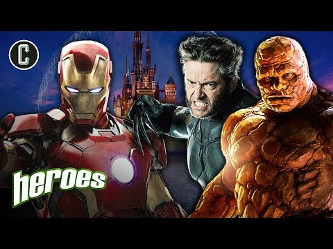 Disney/Fox Merger: X-Men or Fantastic Four? What Comes First? - Heroes