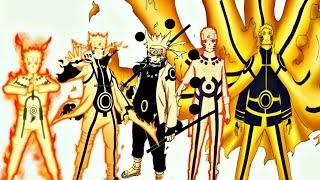 Top 20 Strongest Naruto Uzumaki Forms,Modes | 2016