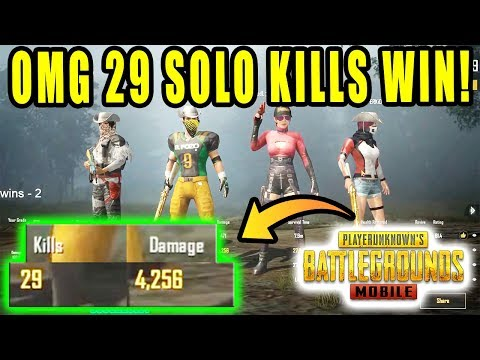 OMG 😱 29 Solo Kills in 1 Game | 30 kills challenge in PUBG MOBILE | DUO vs SQUAD Rush Gameplay