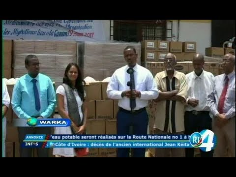 Télé Djibouti Chaine Youtube : JT Somali du 19/08/2017