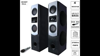 Best ELECTROSAC Tower Speaker to Buy in 2020 | ELECTROSAC Tower Speaker Price, Reviews, Unboxing and Guide to Buy