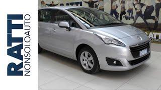 Test drive - Peugeot 5008 1.6 HDi 115cv Active, monovolume 7 posti diesel