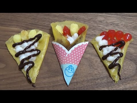 You can eat 🍭 DIY Crepe shaped Candy Kit - popin' cookin' 17 可吃