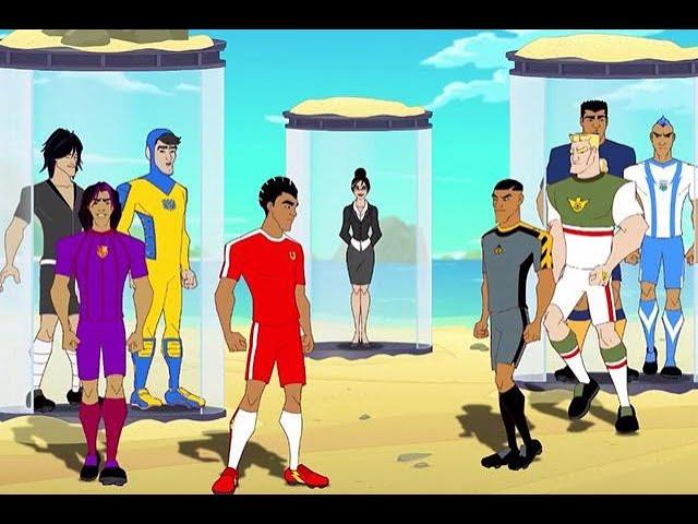 من سيفوز باللقلب الأول لمسابقة كرة القدم في الجزيرة Youtube