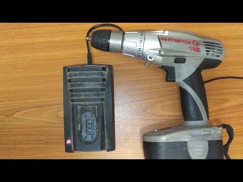 Как восстановить батарею шуруповерта 18 вольт