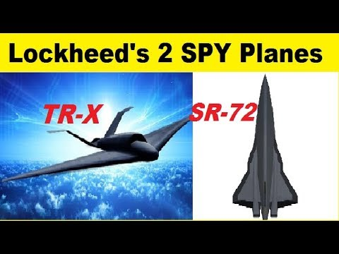 Lockheed Unveils Its TR-X and SR-72 Next Generation Skunk Works