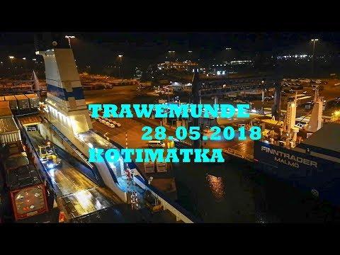 Trawemunde -Helsinki Nro154  Laivamatka Finnstar Aluksella Mp.4