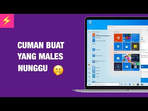 Cara Install Windows 10 May 2019 Update SEKARANG JUGA!