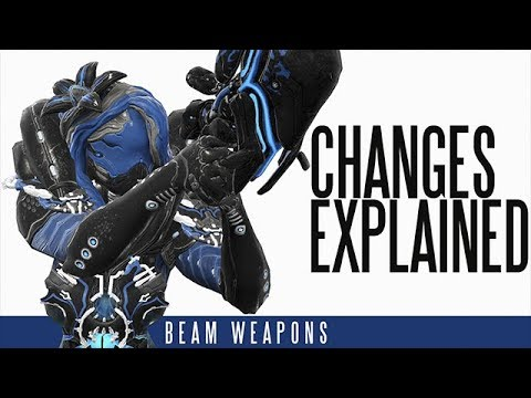 [U22.13.2] Warframe - Beam Weapons changes explained | Shrine of the Eidolon Update