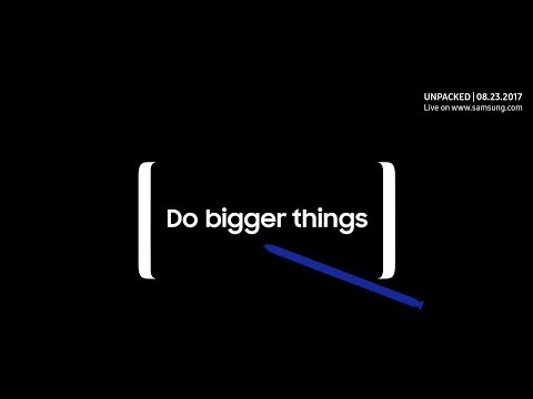 Samsung Galaxy Note 8 Launch Event Live #Unpacked2017