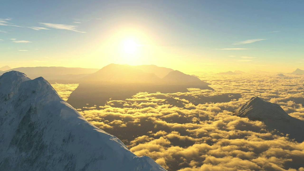 R.T. Sunshine - Mountain peak (Above The Clouds Mix) - YouTube