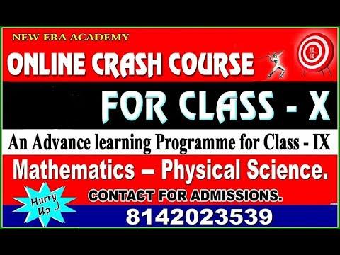 NEW ERA ACADEMY CRASH COURSE GRAND TEST CLASS 10th