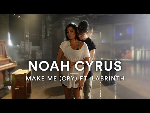 "Noah Cyrus ft. Labrinth (Marshmello Remix) - ""Make Me (Cry)"" 