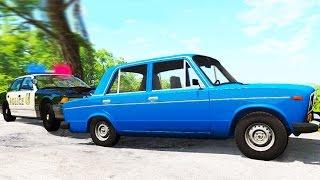 Полицейская ПОГОНЯ за ДРИФТЕРОМ - BeamNG Drive