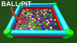HOW TO BUILD A BALL PIT IN ROBLOX *TOTALLY NOT CLICKBAIT*