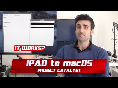 Run IPad Apps On Mac? | IPadOS 13 Project Catalyst Preview