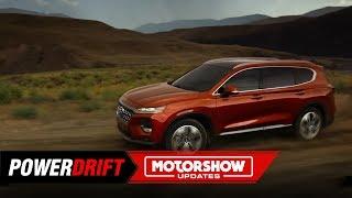 2019 Hyundai Santa Fe: Is it coming to India? : GIIAS 2019 : PowerDrift