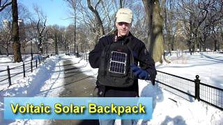 Voltaic Converter Solar Backpack Product Review