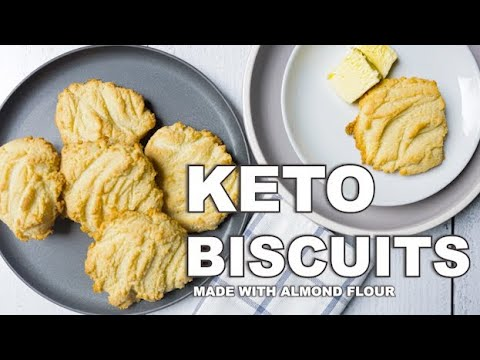 Buttery KETO Biscuits made with Almond flour