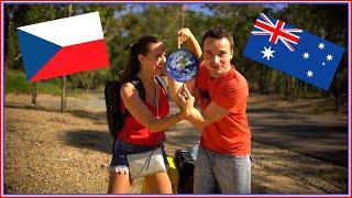NÁŠ PRVNÍ DEN V AUSTRÁLII - Aik & Johanka