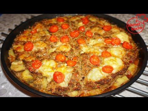 Tepsi Kebab mit Hackfleisch & Kartoffeln | Ahmet Kocht | türkisch kochen | Folge 355
