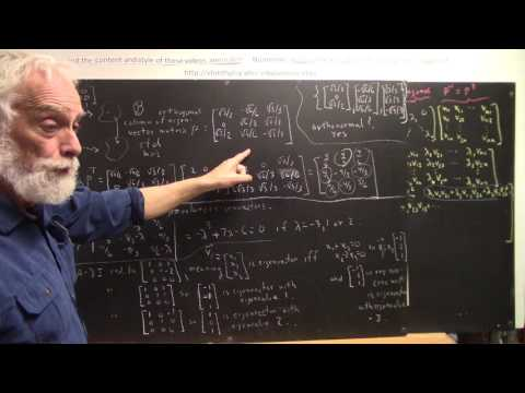 daglin 7900 orthonormal basis of eigenvectors with give eigenvalues yields symmetric matrix represen
