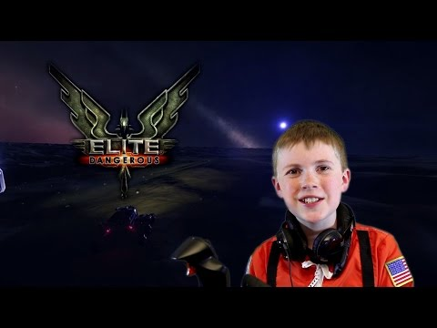 Landing on a planet in Elite Dangerous Horizons for the first time and driving an SRV