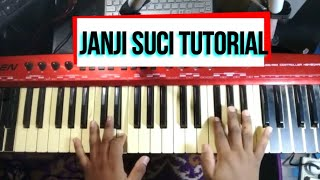 JANJI SUCI - Yovie nuno ( tutorial lengkap )