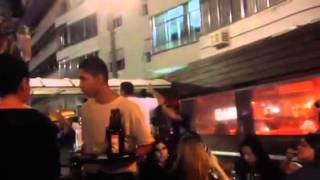 Brazil 2014: Atmostfera u kaficu prvi dan puta