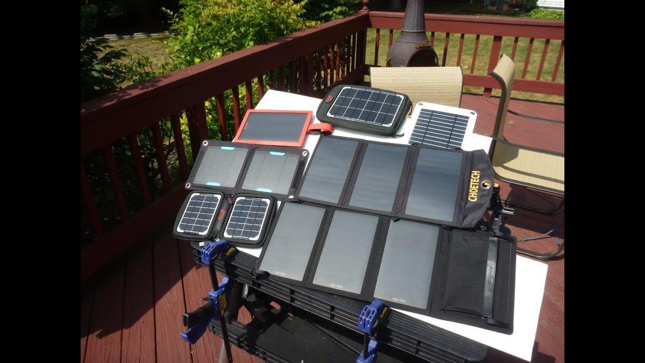 Portable Usb Solar Panel Charger Review Tests Part 1