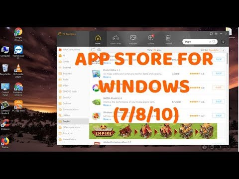 How To Get PC App Store For Windows Computer (Windows 7/8/10)