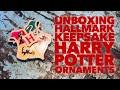 Unboxing Hallmark Keepsake Harry Potter Ornaments