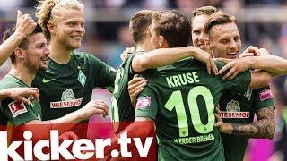 Highlights: Pavlenka glänzt, Werder schlägt Gladbach