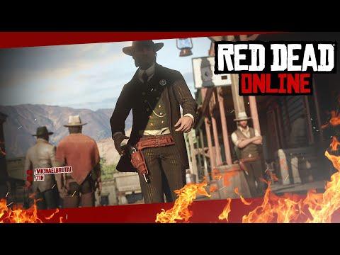 Начало разбоя... - Red Dead Online