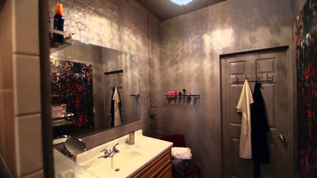 How To Renovate A Bathroom On A Budget bathroom renovation thats fast, cheap and easy -- its got