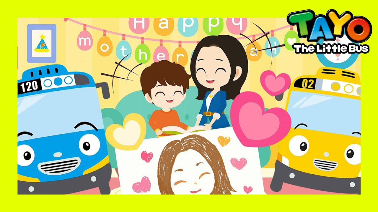 [NEW] Happy Mother's Day Song | Song for Super Moms l Mommy Song l Tayo Songs l Tayo the Little Bus