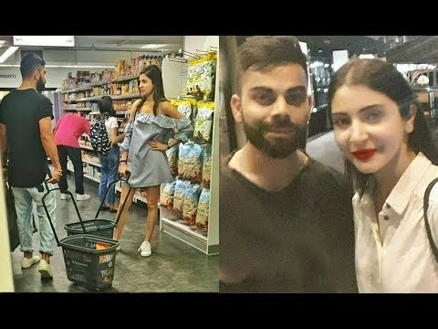 Anushka Sharma And Virat Kohli Goes Grocery Shopping In New York
