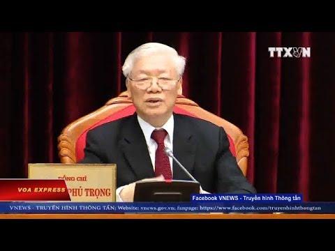 Ông Trọng khai mạc Hội nghị Trung ương 10 (VOA)