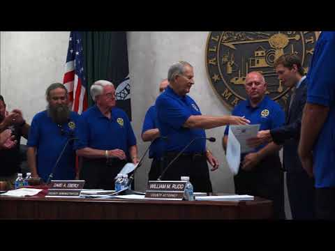 Allegany County Board of County Commissioners Public Meeting - September 21, 2017