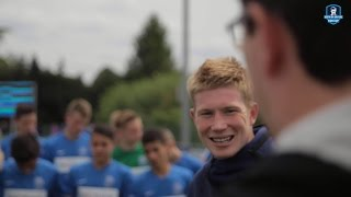 Kevin De Bruyne visits his own tournament ! #KDBCup