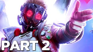 GUARDIANS OF THE GALAXY PS5 Walkthrough Gameplay Part 2 - STAR-LORD (FULL GAME)
