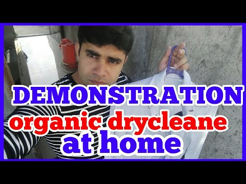 DEMONSTRATION how to white shirt dryclean at home  without bleach & any hard chemicals ( hindi)