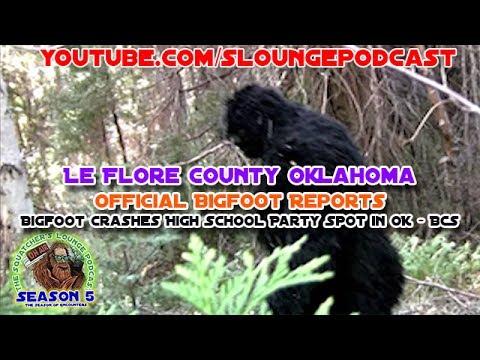 Oklahoma Sheriff Has Bigfoot Encounter - SLP522
