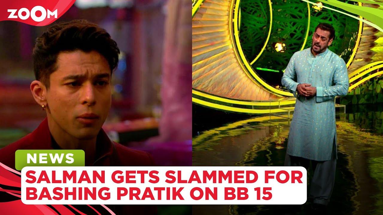 Salman Khan gets slammed by netizens as he bashes Pratik Sehajpal