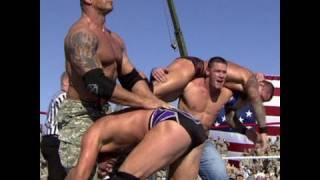 Tribute to the Troops 2008: Cena, Mysterio & Batista vs. Orton, Big Show & Jericho