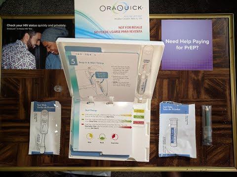 At Home HIV Test - Ora Quick